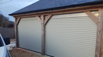 Alderbury garage conversion to double carport