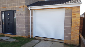 Melksham new garage in Extension. By recommendation